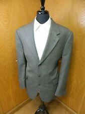 Mens Blazer Sport coat Jacket  Croft & Barrow 44r Black Silver Weave  N#10