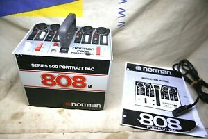 Norman P808M 800WS 500 series Powerpack Works Great Gtd With all cords & Manual