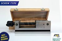 """3"""" LEAD SCREW TYPE PRECISION MACHINE GRINDING VICE VISE HARDENED INDUSTRIAL TOOL"""