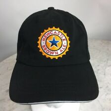Newcastle Brown Ale Embroidered Logo Mens Black Cotton Baseball Cap Strap Back