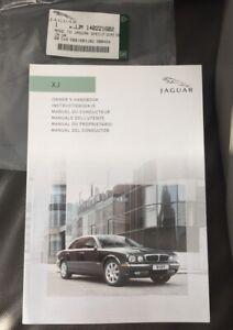 ITALIAN JAGUAR XJ OWNERS USER MANUAL DRIVERS HANDBOOK XJ6 XJ8 XJR X350 2003-2007