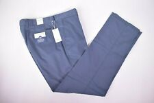 BRAX NWT Cotton Blend Casual Pants Size 38 x 34 in Blue $198 Evans