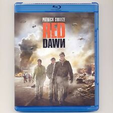 Red Dawn 1984 PG-13 war movie, mint Blu-ray, Patrick Swayzie, Lea Thompson WWIII