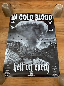 In Cold Blood Vintage Poster Integrity Victory Records Cleveland Hardcore
