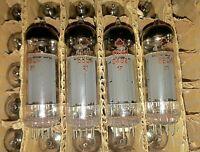 4 x REFLECTOR 6P14P 6BQ5 EL84 Tubes