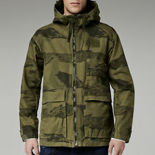 NWT $300 G STAR RAW Carber Hooded Albatross Jacket Sage Sz XL