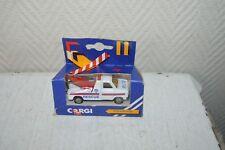 VOITURE POLICE  RESCUE WRECKER CORGI DIE-CAST CAR  NEUF BOITE vintage 1984