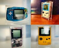 Protective Acrylic Case For Nintendo GameBoy/Pocket/Color/Advance or DMG System