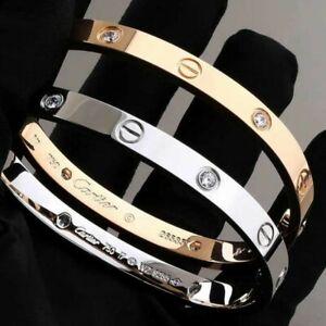 Elegant By Design screw Bracelets. silver, gold 19cm all in stock