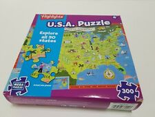 U.S.A. Puzzle 300 Pieces New In Box