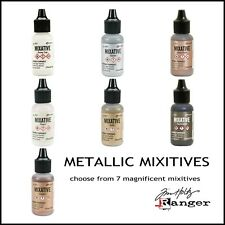 Tim Holtz Metallic Mixitives Create a Polished Stone Effect Open Stock 7 Colors