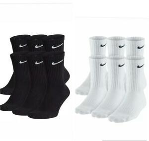 Men Nike Everyday Performance Crew Length Socks 1, 3, or 6 Pairs