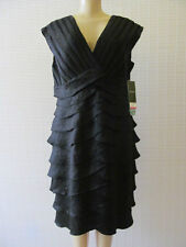 SCARLETT NITE BLACK SLEEVELESS FORMAL DRESS SIZE 16 - NWT