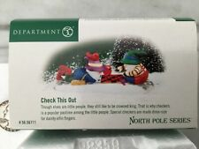 New Department 56 Check This Out Porcelain Heritage Village Nos North Pole Dept