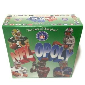 NEW SEALED NFL-OPOLY Football Team Board Game Of Champions TDC 1994 Farve Rice