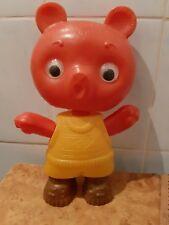 Vintage Ussr toys plastic bear