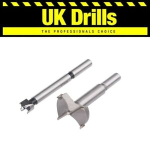 FORSTNER BITS. HIGH QUALITY WOOD/HINGE DRILLS - SIZES 10-60mm + SET