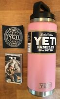 YETI Rambler Bottle 26 oz Limited Edition PINK Sold Out NEW 2017 Discontinued