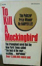 To Kill A Mockingbird, Harper Lee, 1977, Vintage Paperback