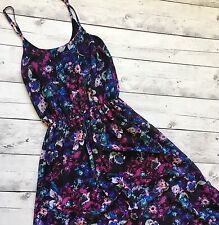 Guess Los Angeles Maxi Dress Size XS Floral Long Full Length Summer Beach Lined