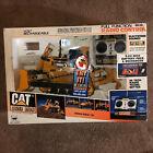 1992 New Bright Caterpillar D10N Bulldozer Ripper 1:20 working in box EX *read
