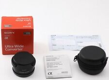 SONY VCL-ECU2 Ultra-Wide Converter for E 16mm F2.8, E 20mm F2.8 JAPAN