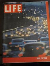 Life Magazine Los Angeles Great City Coming of Age June 1960