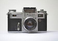 Kiev Jupiter-8M 2/53 Kamera mit Original Leder Tasche, Nr.7977272 N.508