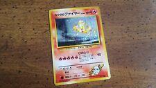 RARE Blaine's Moltres Gym Heroes Holo Foil Pokemon Card Japanese