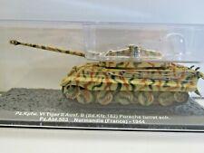 IXO Die-cast Model 1:72 Scale Sd.Kfz.182 Porsche Turret sch. Normandie - 1944