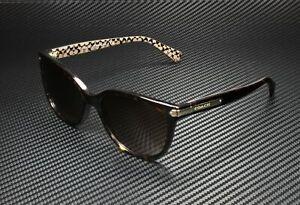 COACH HC8132 529113 Dk Tort MiIItary Dark Brown Gradient 57mm Women's Sunglasses
