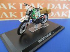 Die cast 1/24 Modellino Moto Yamaha XT500 Paris Dakar 1979