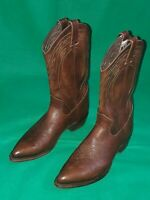 Frye Style #87689 Cowboy Boots Billy Dark Brown Leather Men's SZ US 9.5 EUR 42.5