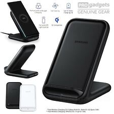 Genuine Samsung Wireless Qi Fast 2.0 Charger Stand 15w for Note 20/ iPhone 12