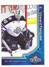 2011-12 St. John's IceCaps (AHL) Eddie Pasquale (goalie)