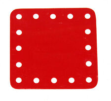 "Meccano Flexible Plastic Plate 5x5 Hole 2½"" x 2½"" Part Number 194a"