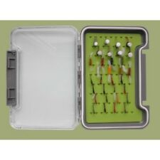 32 Buzzer Trout Fishing Flies in a Silicone Insert Box, Named flies, Fly Fishing