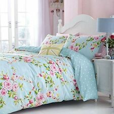 Canterbury Roses Duvet Quilt Cover Bedding Set With Pillowcases Super King Size