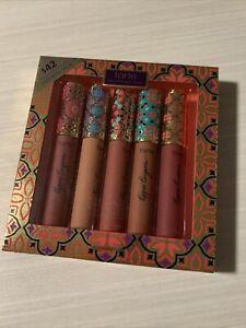 Tarte Limited Edition Pout Pleasures Lippie Lingerie Matte Tints 5 Piece Set