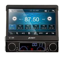 "HD Autoradio 7"" Single 1DIN Car DVD GPS Navi Sat Bluetooth SW-C RDS Audio USB"