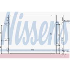Kondensator Klimaanlage - Nissens 940201