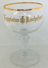 ROCHEFORT Trappist bier beer bière glass RARE COLLECTABLE