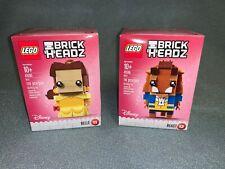 2017 Lego BrickHeadz - Bell and The Beast - #41595 & #41596