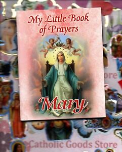 My Little Book of Prayers  - Mary Booklet