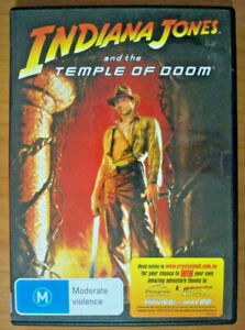 Indiana Jones and the Temple of Doom - DVD - Harrison Ford, Kate Capshaw