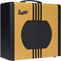 Supro 1822 Delta King 12 15W 1x12 Tube Guitar Amp Tweed and Black LN