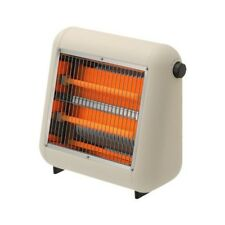 PlusMinusZero Infrared Electric Heater Beige Home Appliance Warm Hot Stove EMS