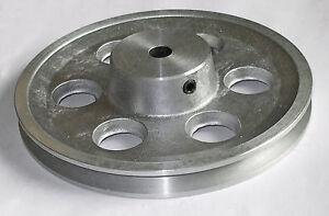 """Vee belt water pump pulley, 12mm bore  6"""" (150mm) diameter    PULLEY610VEE"""