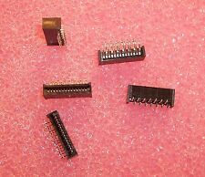 QTY (55) 14 POSITION R/A FFC CONNECTORS 2532-14TRA/SN OUPIIN ROHS 1.25mm
