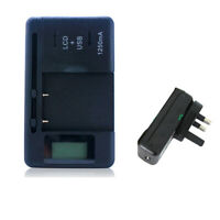 For Nokia BL-4C BL-5C BL-6C BL-5B AC Wall Main Battery Charger w/ LCD Display